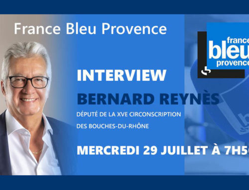 Interview Radio France Bleu Provence